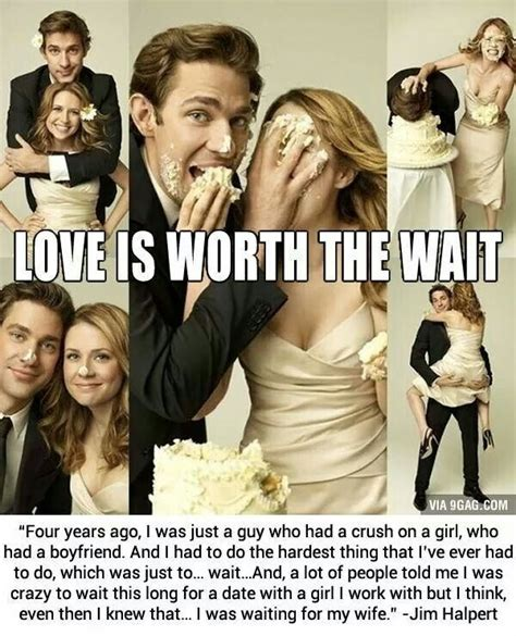 Wedding Quotes The Office by Jim And Pam Wedding Quote Quote Number 567646 Picture