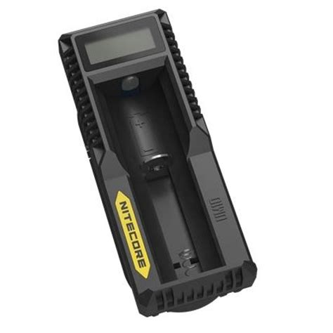 Termurah Nitecore Universal Battery Charger 1 Slot For Li Ion F1 nitecore universal battery charger 1 slot for li ion with lcd um10 black jakartanotebook