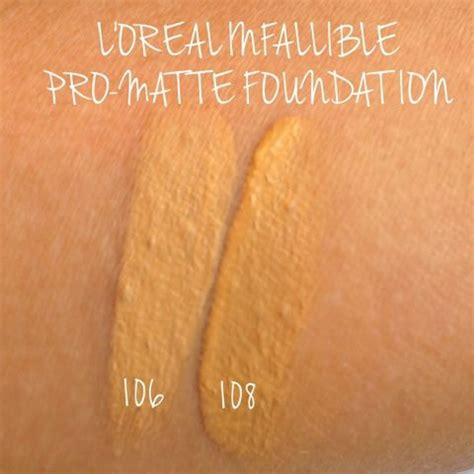 L Oreal Infallible Pro Matte 106 the cluttered counter l oreal infallible pro matte