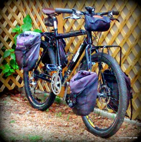 Best Front Pannier Rack by Minoura Mt 4000 Sf Front Pannier Rack For Mountain Bike Touring By Rideon Bike Tourings