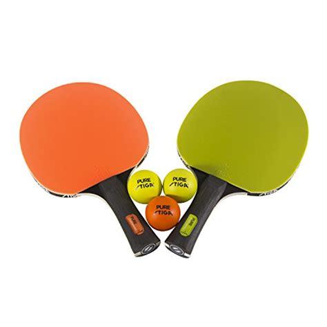 stiga advance table tennis table stiga pure color advance 2 player set