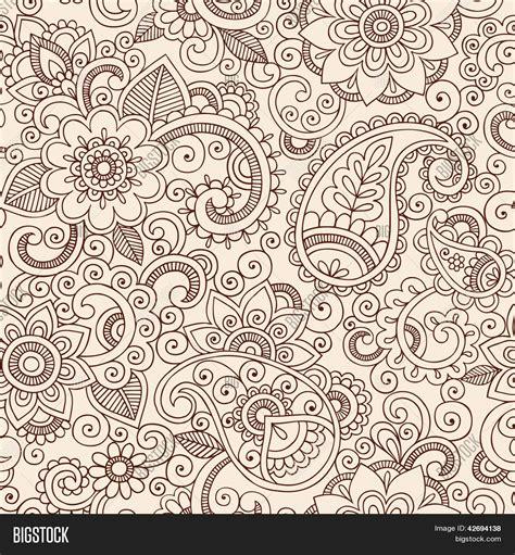 henna tattoo background henna mehndi doodles vector photo bigstock