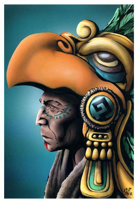 imagenes de aztecas guerreros guerrero azteca by ricardohurtadotorres on deviantart