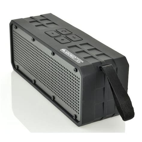 rugged outdoor speaker meanderthals roqbloq rugged outdoor bluetooth speaker