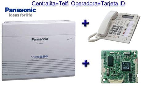 Pabx Panasonic Kx Tes824 53 pack centralita tes824 telf operadora tarjeta id