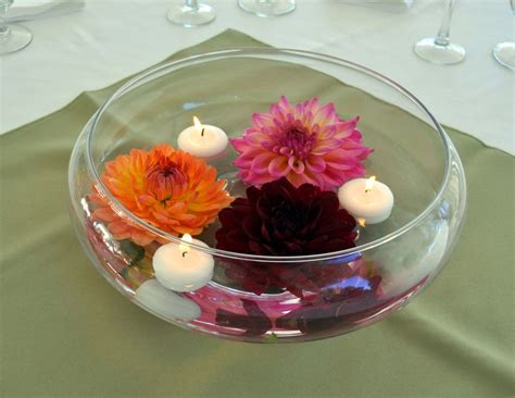 19 Beautiful Bowl Centerpiece Ideas For You Diy Fans Glass Bowls For Wedding Centerpieces