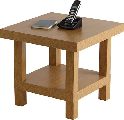 Oak Effect Side Table Chunky Side Table Oak Effect Shopstyle Co Uk