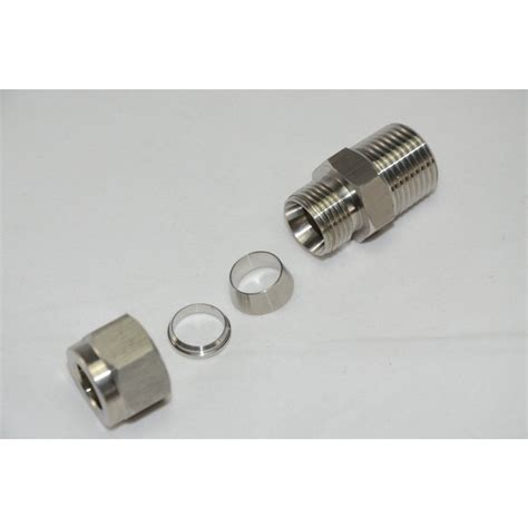 1 2 quot threaded bsp with 12mm od compression fitting