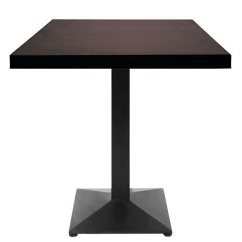 table 60x60 cuisine table restaurant 60x60 cm plateau bois et pied m 233 tal