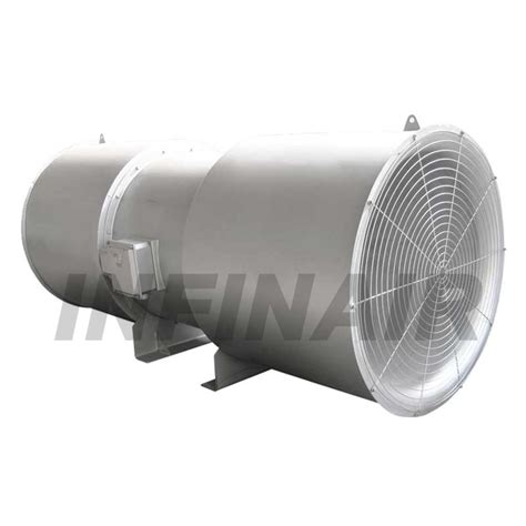 global industrial exhaust fans tunnel ventilation fan jet type yftnv infinair malaysia