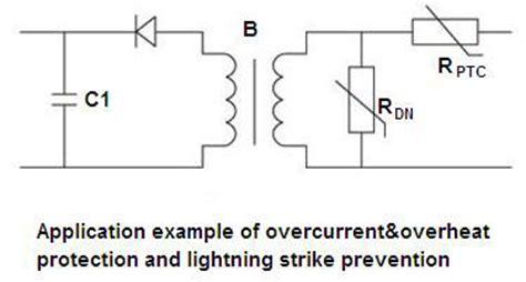 ptc thermistors for overcurrent protection telecom overcurrent protection ptc thermistor