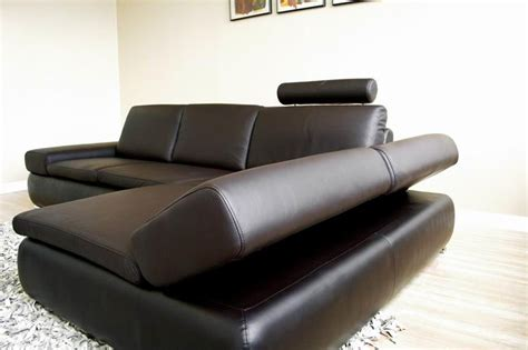 2018 diana brown leather sectional sofa set