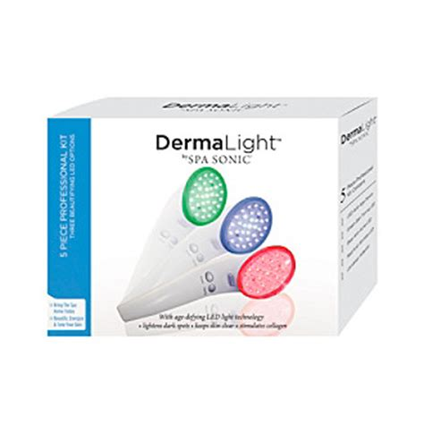 Derma Light by Upc 854248003145 Spa Sonic Derma Light Led Anti Age Device Upcitemdb