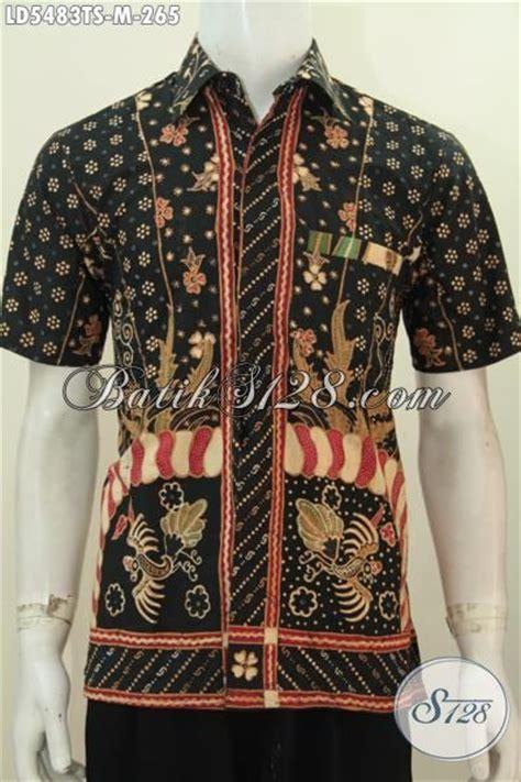 desain baju batik lengan pendek batik hem modis desain motif istimewa untuk penilan