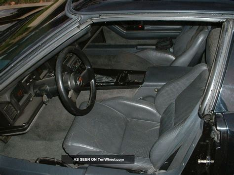 1986 Corvette Interior Parts by 1986 Chevy Corvette Black W Gray Interior
