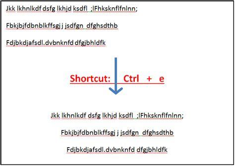 microsoft word keyboard shortcut ctrl  bergen
