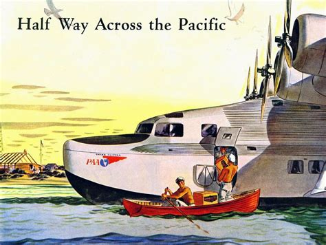 flying boat poster pan am china clipper poster flyingboats pinterest