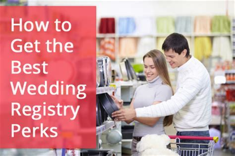 5 Ways to Score the Best Wedding Registry Perks