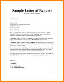 Request Letter Draft 8 How To Write Letter Of Request Packaging Clerks