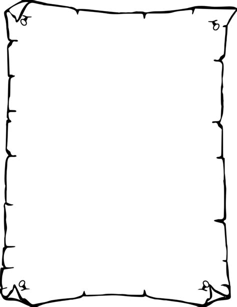 How To Make Paper Borders - simple border designs for a4 paper clipart best