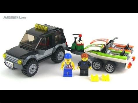 Lego City Jeep Lego City 60058 Suv With Watercraft 2014 Set Review