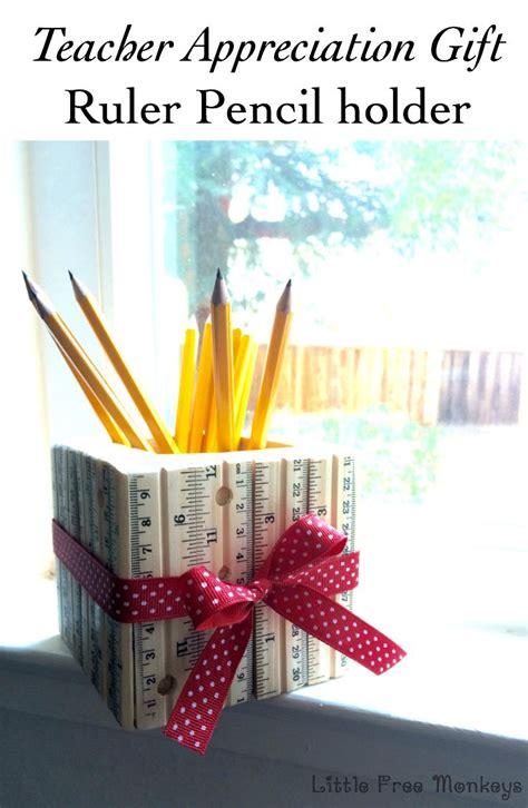 teacher appreciation gift ruler pencil holders teacher