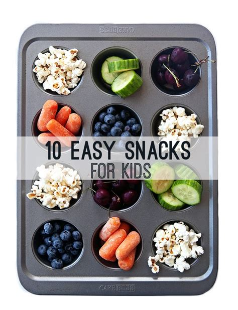 healthy food for kids easy 10 easy healthy snacks for kids some the wiser