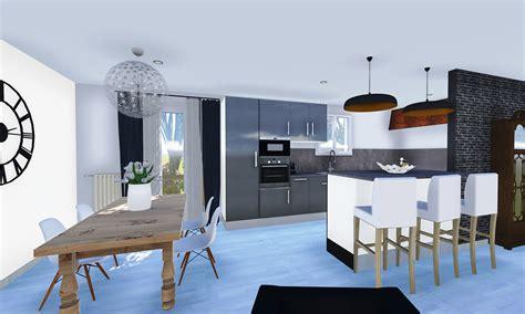 Idée Séparation Cuisine Salon by Decoration Interieur Cuisine Salon