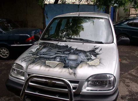 Painting Your Car by Awesome Car Paint Automotive Spray Paint
