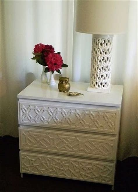 overlays ikea ikea malm dresser hack with fretwork overlays for the
