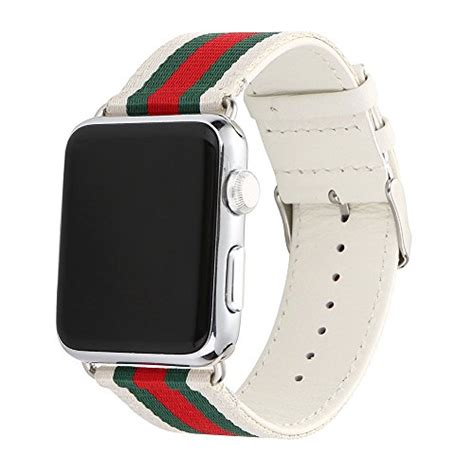 Apple Gucci Premium Quality For 38mm 42mm Dijamin 38mm apple band gucci pattern sport