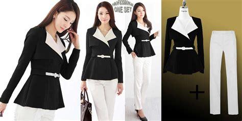 Lovely Sheep Blouse New Style Baju Wanita Model Baju Kerja Wanita