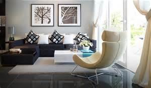 interior design brown sofa a dark brown couch vs yellowish chair interior design