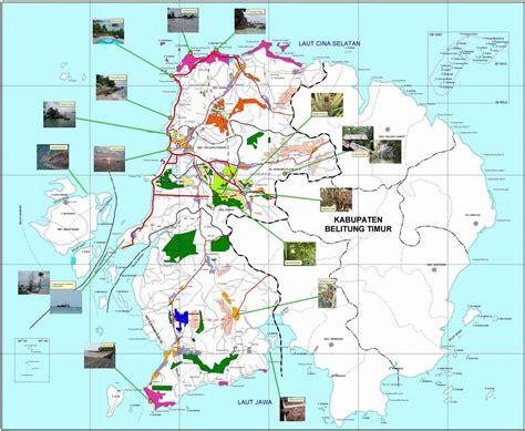 Peta Wisata Provinsi Kepulauan Bangka Belitung Kota Pangkalpinan H1051 gt peta lengkap indonesia peta wisata kabupaten belitung
