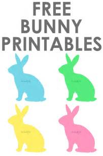 What Is An A Frame House free bunny printables