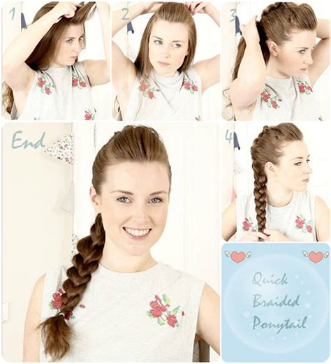 7 easy and chic ponytail hairstyle for back to