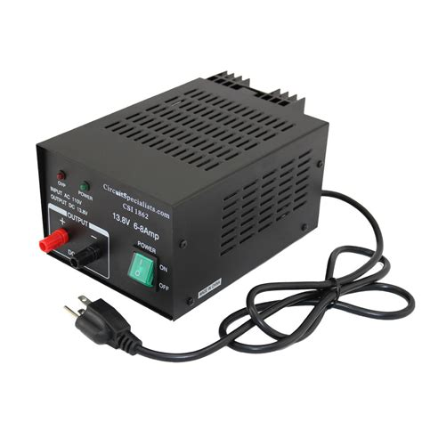 6 Volt 5 Dc Power Supply by 13 8 Volt Rugged Linear Dc Power Supply 6 0