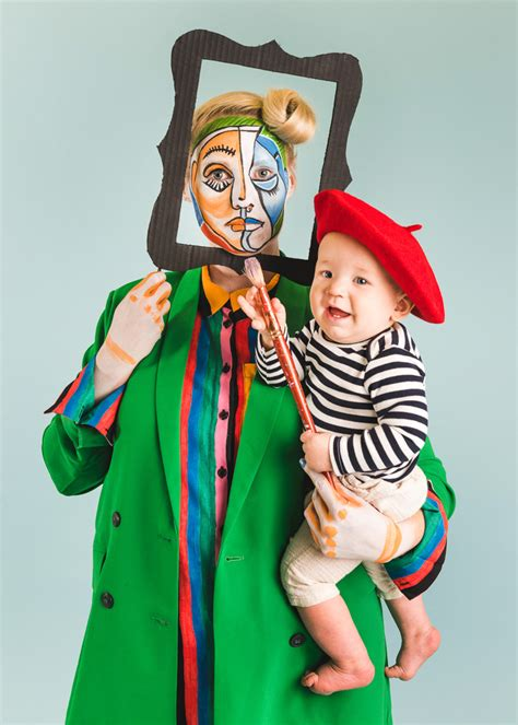 picasso  painting mommy   halloween costume