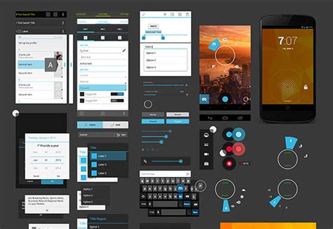 mobile themes psd free download 15 free mobile app ui psd kits graphicsfuel