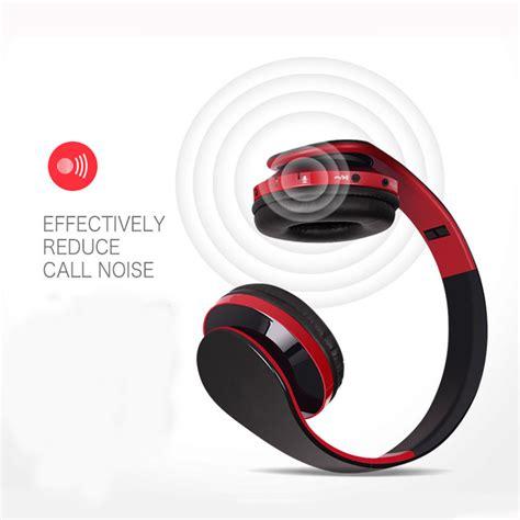 Earphone Headset Huawei Jd05 Lu wireless bluetooth foldable headset sport stereo
