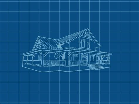 blue prints for houses render house blueprint by feargfxstudio on deviantart
