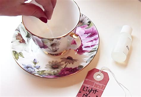 How To Make Decorative Candles At Home How To Make Candles In Teacups