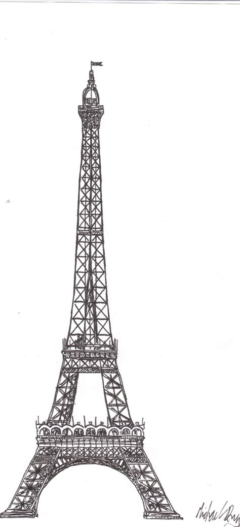 doodle tower eiffel tower pen doodle by mike12345567 on deviantart