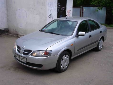 2003 Nissan Almera Pictures 1500cc Gasoline Ff Manual