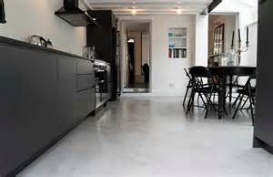 Building A Loft In Garage polished concrete flooring seamless floors
