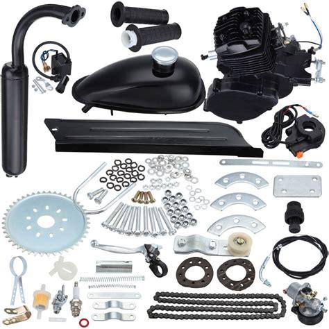80cc Muffler by Black 80cc 2 Stroke Gas Motor Muffler Motorized Bicycle