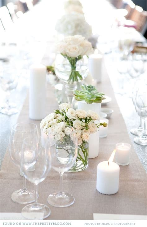 White Table Settings 17 Best Ideas About White Table Settings On Pinterest White Tables Table Settings And Wedding