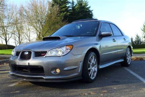 2007 subaru impreza wrx sti limited for sale purchase used 2007 subaru impreza wrx sti limited sedan 4
