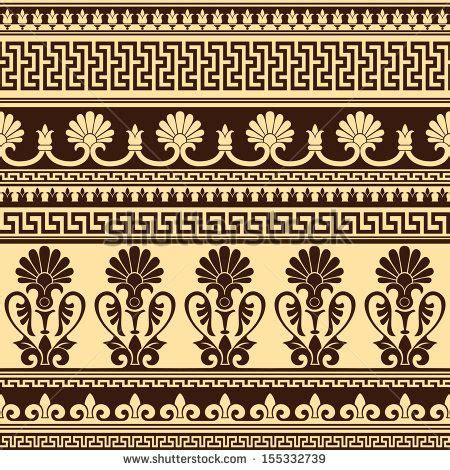 roman pattern vector vector seamless background with greek design pattern