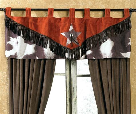 Cowhide Valance cowhide valance s western baby shower